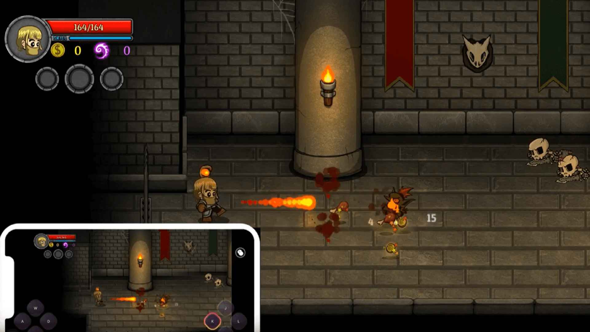 Remote Play PC Game on Smartphone